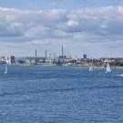 Helsinki, widok z Suomenlinny
